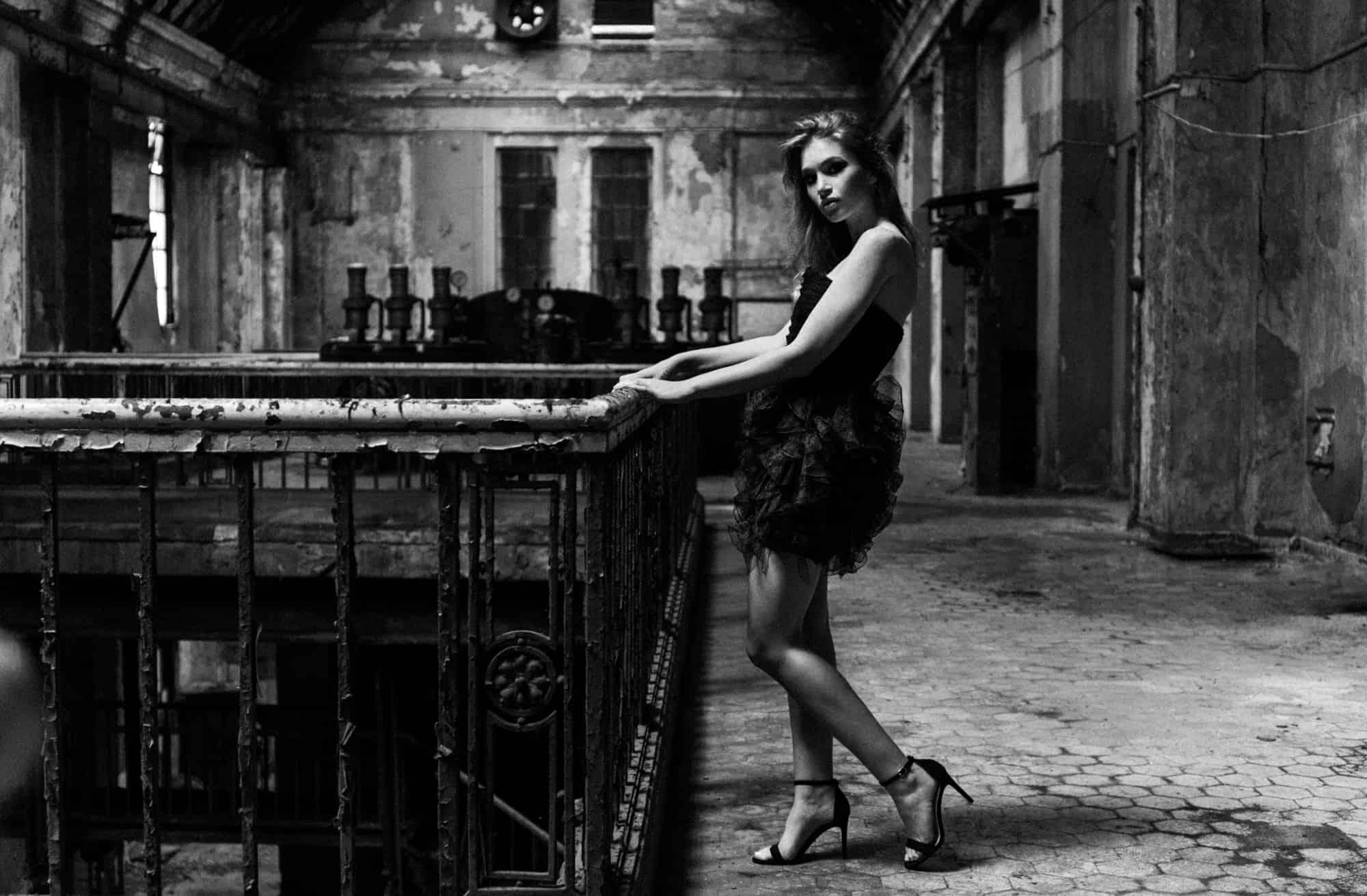 szombierki bytom, monochrome photography